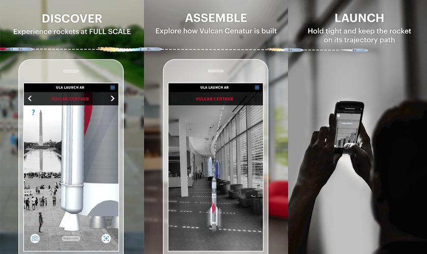 ULA release AR-powered ULA Anywhere AR app.