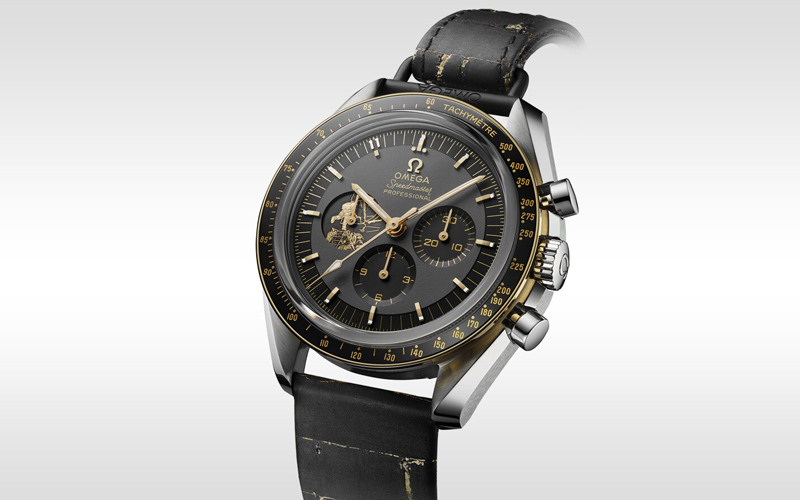 Omega has released a second commemorative Moon mission Speedmaster with two straps.