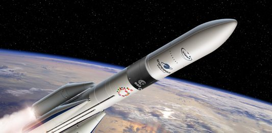 ESA has commissioned a new all-carbon-composite upper stage.