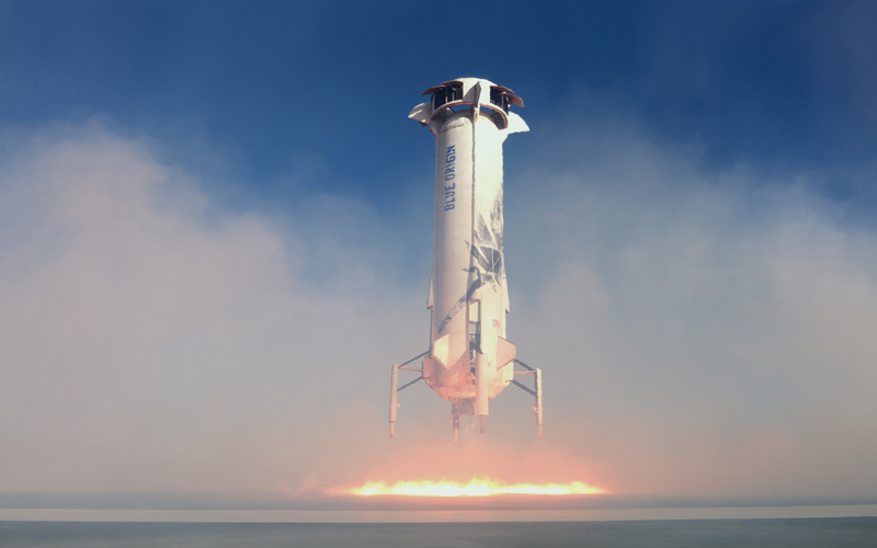 Blue Origin has successfully launched its most significant mission to date.