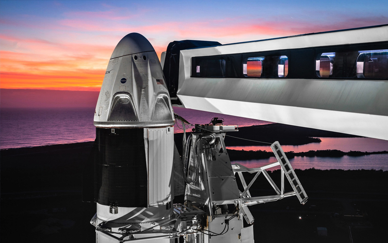 NASA suggest that SpaceX may still launch a crewed Dragon Crew mission before the end of the year.
