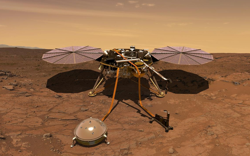 NASA's InSight lander has received a power booster after a storm cleared dust from the lander's solar panels.