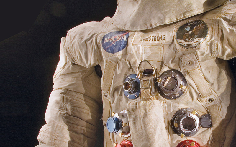 Neil Armstrong's Apollo 11 spacesuit will go on display for the first time in 13 years this summer.