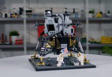 LEGO release new NASA Apollo 11 Lunar Lander to commemorate 50th anniversary.