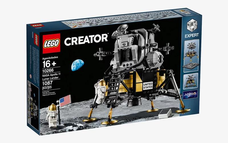 LEGO Creator Expert NASA Apollo 11 Lunar Lander gallery image 1.