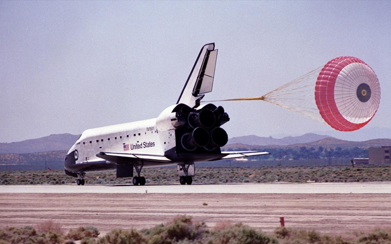 STS-49 was completed with the touchdown of Endeavour on May 16, 1992.