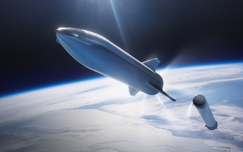 SpaceX are working on a dedicated website for the company's Starship launch vehicle.