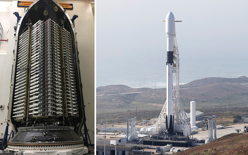 SpaceX to launch 60 Starlink Satellites on May 15.