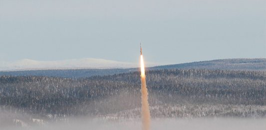 The Swedish Space Corporation has successfully launched 4 ESA experiments aboard the Maser 14 rocket.