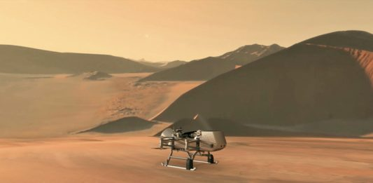 NASA to launch nuclear-powered robotic quadcopter to Titan.