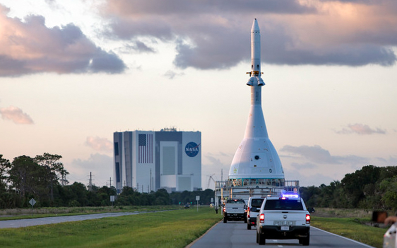 NASA prepare to launch the Orion spacecraft Ascent Abort-2 test.