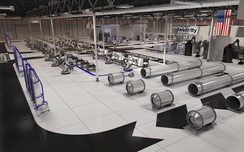 Relativity Space to build autonomous rocket factory.