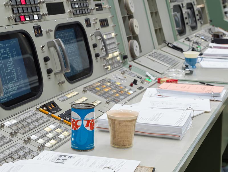 Restored Apollo era Mission Control Gallery 3.