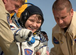 Three members of the ISS Expedition 59 crew have returned to Earth after 204 days aboard the station.