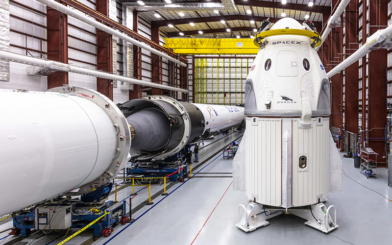 SpaceX is about to launch the ashes of 152 people into space
