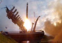 Russia launch four classified satellites for the country's Ministry of Defence.