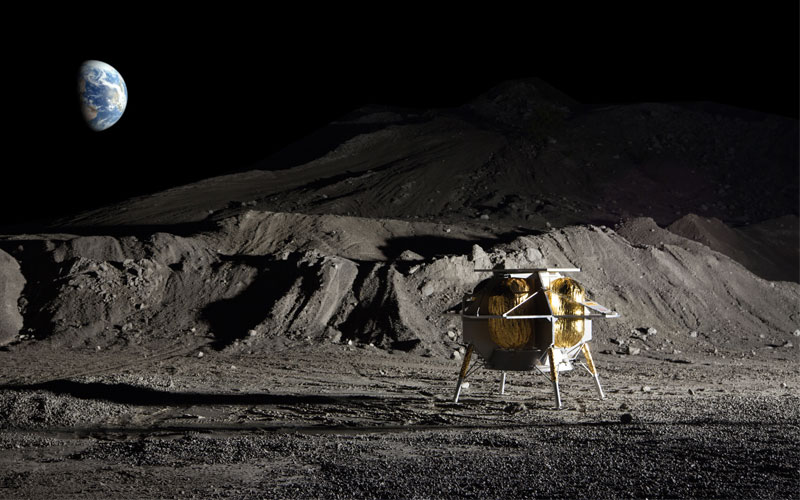 NASA has selected 12 payloads that will be launched aboard commercial lunar landers.