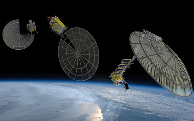 NASA awards Made in Space a $73.7 million contract to 3D-print satellite components in orbit.