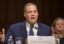 NASA Administrator Jim Bridenstine has revealed the maiden SLS mission will slip to 2021.