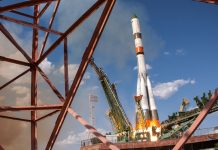 Russia launches Progress MS-12 International Space Station resupply mission.