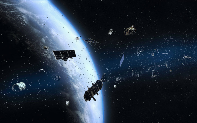 Debris created by India's ASAT test in March is still orbiting the Earth.