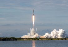 SpaceX launch flight-proven Dragon for CRS-18 mission to resupply International Space Station.