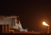SpaceX perform Starship Hopper static fire test that ended in a massive fireball.