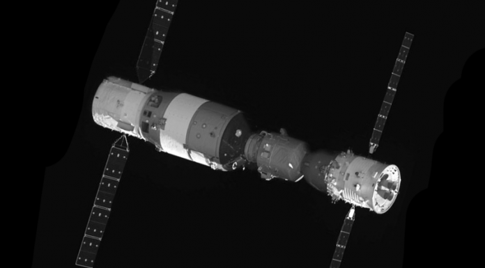 The Chinese Tiangong-2 has been deorbited in a controlled re-entry.