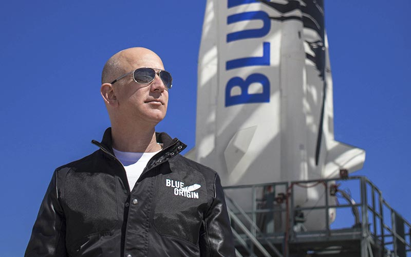 "Blue Origin has filed a protest over what it calls a ""flawed"" Air Force launch procurement process."