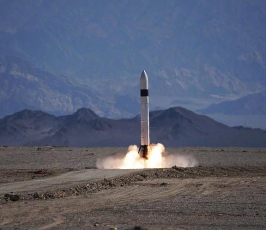 The Linkspace RLV-T5 demonstrator performed a 300-meter launch and landing test.