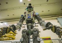 Russia launch the humanoid robot, Skybot aboard Soyuz MS-14 mission.