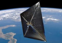 NASA has proposed a spacecraft that would be powered by a 1,700-square-meter solar sail.