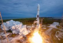 SpaceX launch a rare expendable mission deploying the AMOS-17 communications satellite.