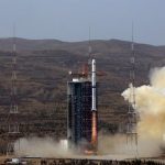 China launch remote sensing satellite aboard Long March 4B.