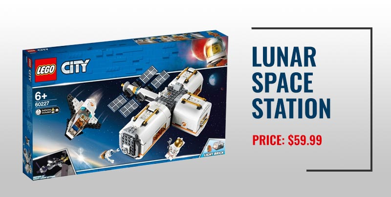 Lunar Space Station Lego set.