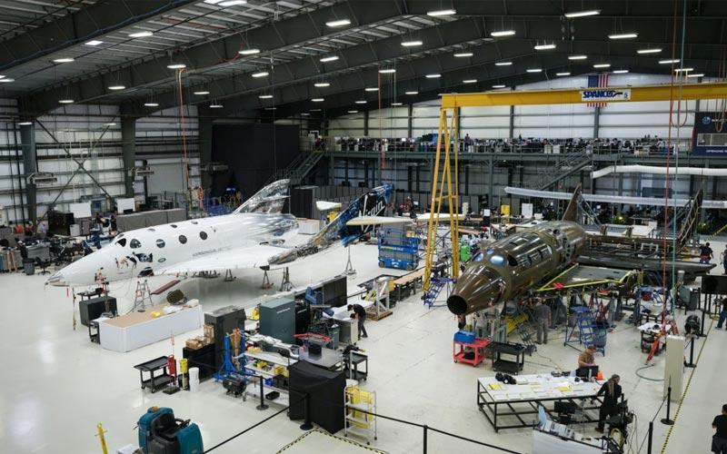 Virgin Galactic complete major milestone for third SpaceShipTwo spaceplane.