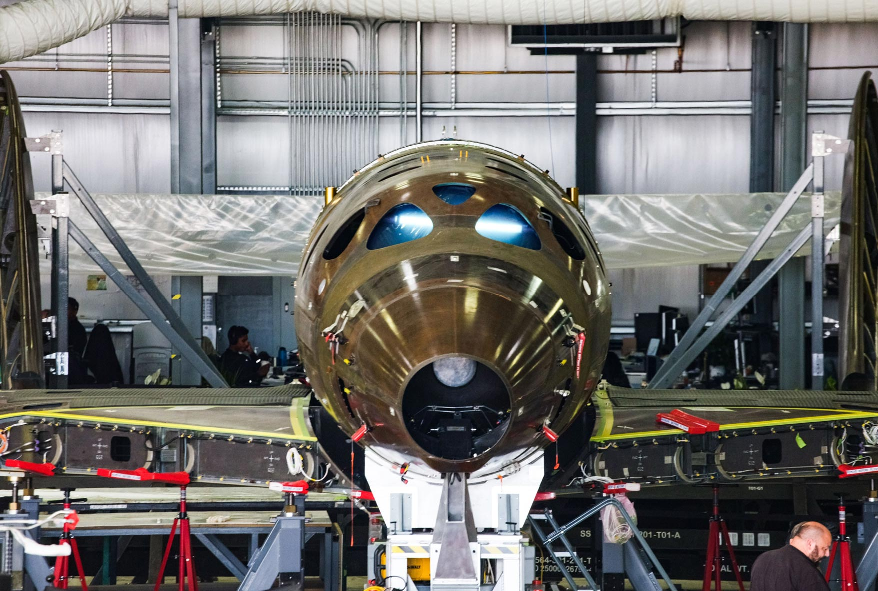 Virgin Galactic has completed a major milestone in the construction of its third SpaceShipTwo spaceplane.
