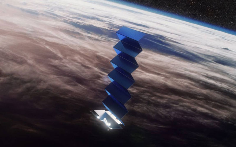 SpaceX Starlink satellite almost  collides with European satellite