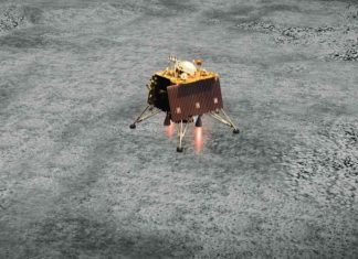 India has located failed lunar lander.