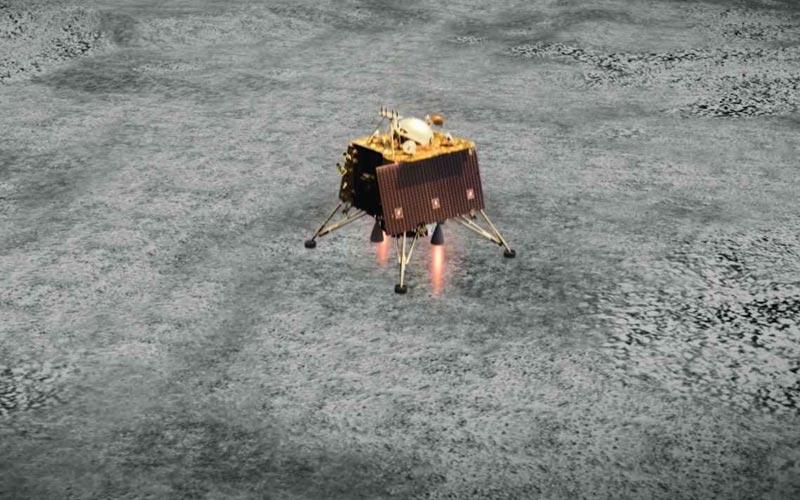 India has located failed lunar lander.