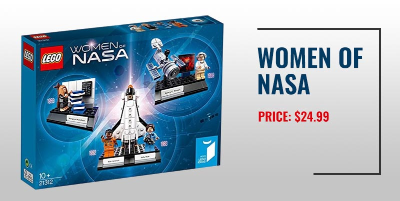 Women of NASA Lego set.
