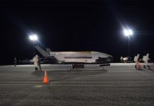 US Air Force X-37B returns to Earth after 780 days in orbit.