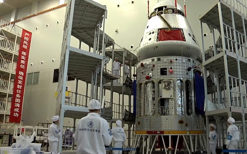 China reveal next-generation spacecraft that will support crewed mission so the moon.