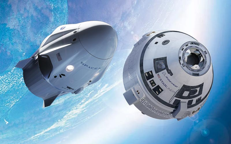 Boeing and SpaceX are set to complete crucial commercial crew tests within days of one another.