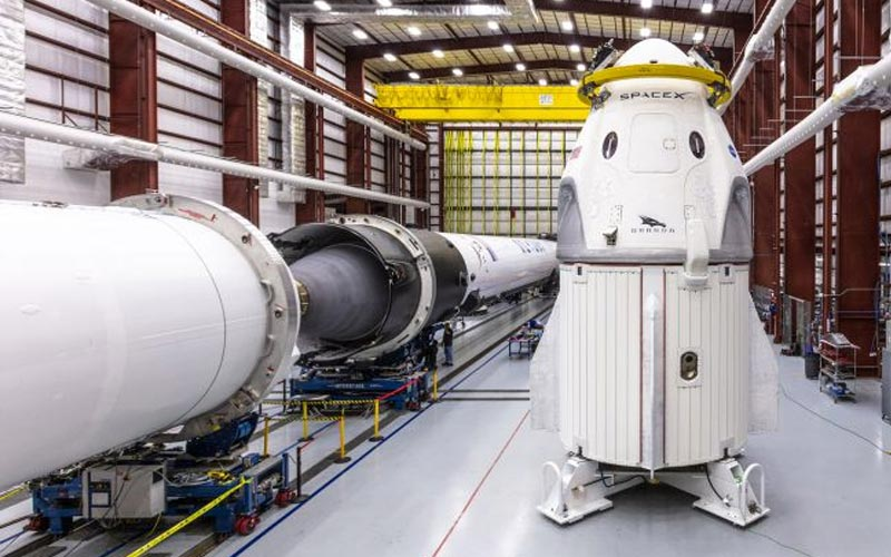 Musk reveals Crew Dragon could be ready in 10 weeks.