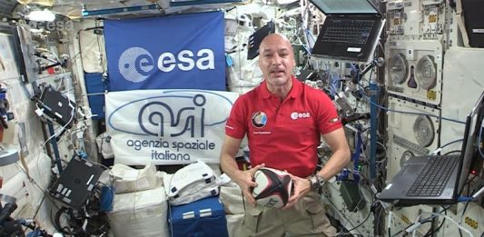 Italian astronaut gets to watch Rugby World Cup live aboard International Space Station.