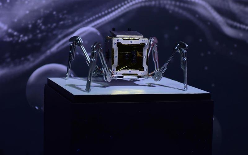 SpaceBit to secure spot aboard Astrobotic Peregrine lander for a robotic spider lunar rover.