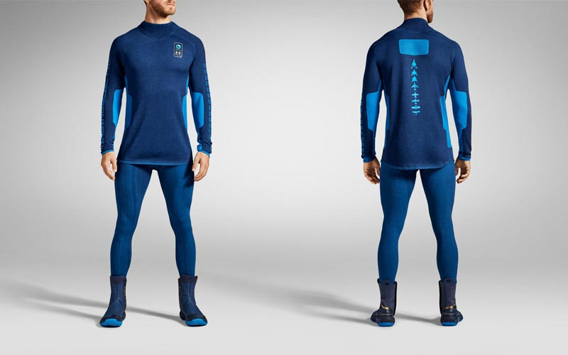 Under Armour produces a base layer for Virgin Galactic flight suit.