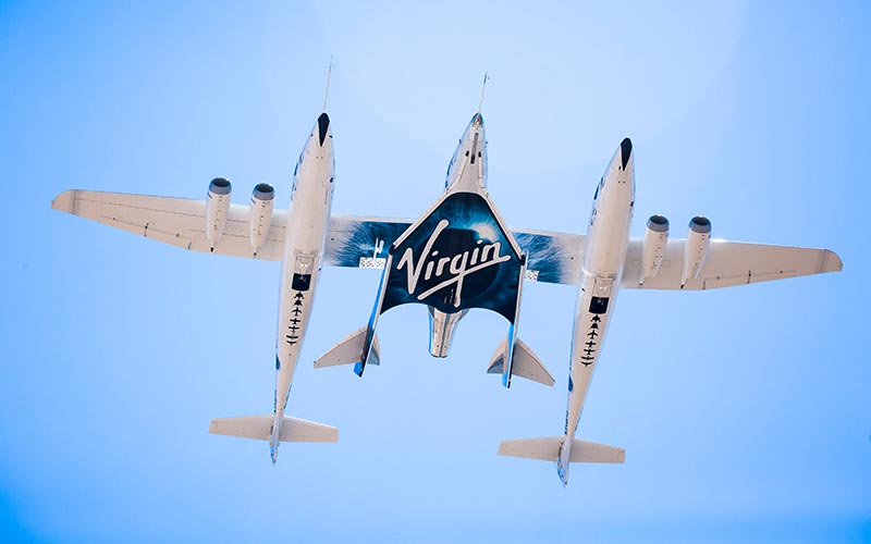 Virgin Galactic to go public on the New York Stock Exchange.