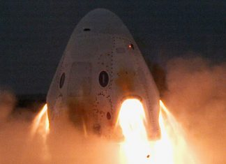 SpaceX has successfully completed a pivotal static fire test of the Crew Dragon.